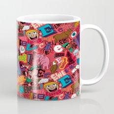 E Pattern Mug