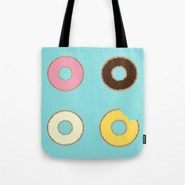 Four Doughnuts (Bitten version) Tote Bag