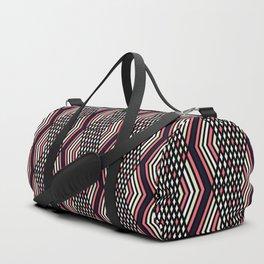 Zigzag pattern 2 Duffle Bag