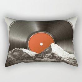 Retro vinyl record Rectangular Pillow