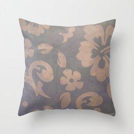 Floreal texture Throw Pillow