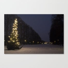 Christmas in Oslo Canvas Print