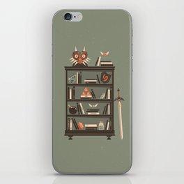 Zelda Shelf // Miyamoto iPhone Skin