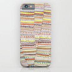 Cone pattern iPhone 6s Slim Case
