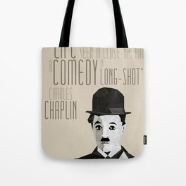 Chaplin Scomposition Tote Bag