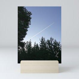 Suffering from wanderlust Mini Art Print