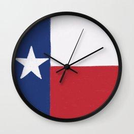 Texas State Flag Wall Clock