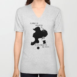 The Moment You Doubt You Can Fly Unisex V-Neck