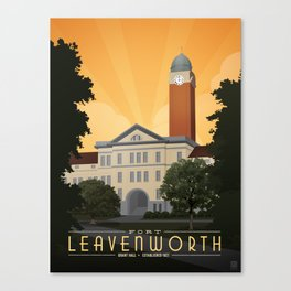 Fort Leavenworth Canvas Print