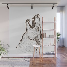 Open Mouth Wall Mural