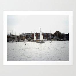 The Harbor, Annapolis - View II Art Print