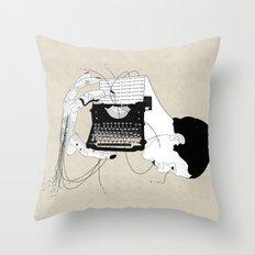Olivetti Throw Pillow