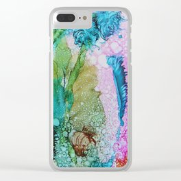 Beneath the Sea Clear iPhone Case