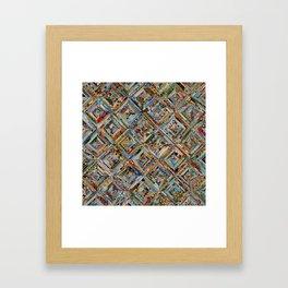 Texas Kaleidoscope Framed Art Print