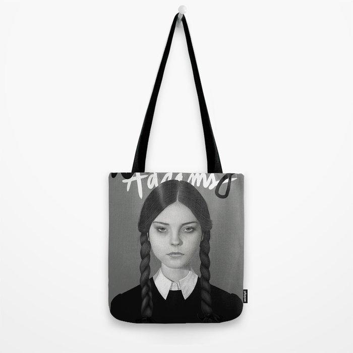 Wednesday Addams Tote Bag