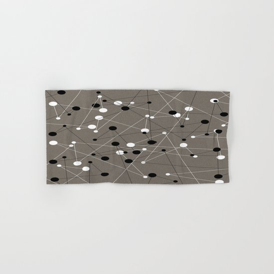 Molecular Pattern Hand & Bath Towel