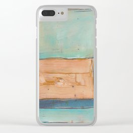 Cool Rothko Clear iPhone Case