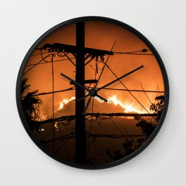 Hot Line Wall Clock