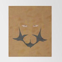 Minimalist Lordgenome Throw Blanket