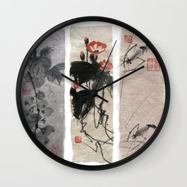 A novel in three chapters Wall Clock