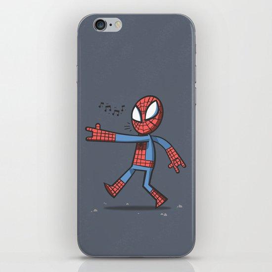 Spidey Walking iPhone Skin