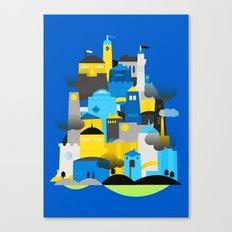 Magic Town Canvas Print