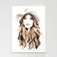 downton abbey Stationery Cards featuring Abbey by Esther Kang
