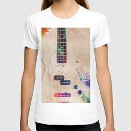 Guitar art 11 #guitar #music T-shirt