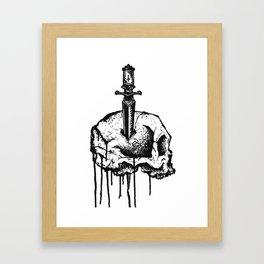 Unknown Pleasure 2 Framed Art Print