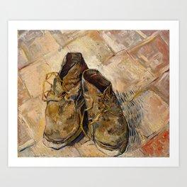 Vincent van Gogh - Shoes Art Print