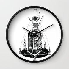 Devil's Moonshine Wall Clock