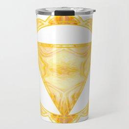 You Are My Sunshine Abstract Chakra Art  Travel Mug