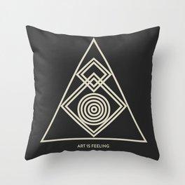 ReyStudios Monochromatic 8 Throw Pillow