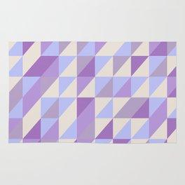 Purple n Hashed Rug
