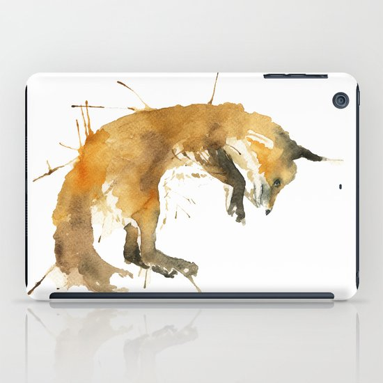 Sleepy Fox iPad Case