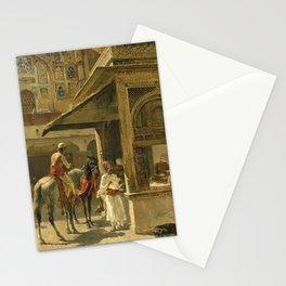 Hindu Merchants by Edwin Lord Weeks Stationery Cards