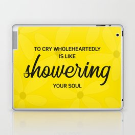 To cry wholeheartedly Laptop & iPad Skin