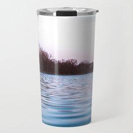 River After Sunset-Landscape Photography Long Exposure Travel Mug