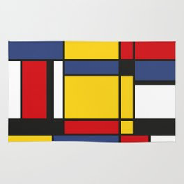 Downtown, Tribute to Mondrian Rug
