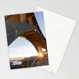 Sunrise over Donner Stationery Cards