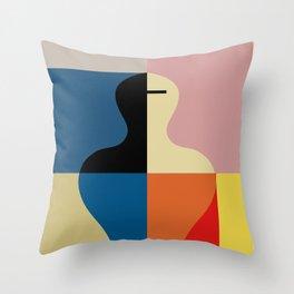SCHLEMMER TRIBUTE Throw Pillow