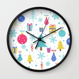 Christmas, Merry , Wall Clock