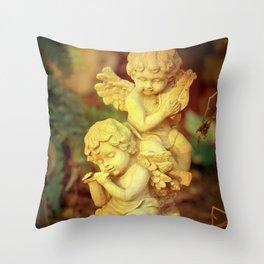 Cherubs Throw Pillow