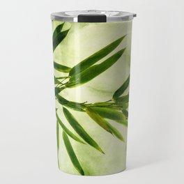 green bamboo Travel Mug