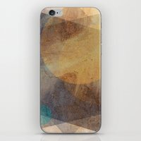 moon phase iPhone & iPod Skins featuring It's Just  A Phase by Anai Greog