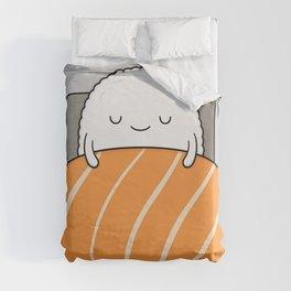 sleepy sushi Duvet Cover