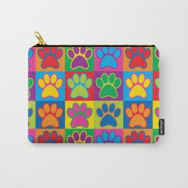 Pop Art Paws Carry-All Pouch
