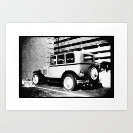Automobile Art Print