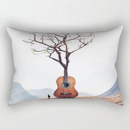Guitar Tree Rectangular Pillow