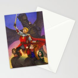 Sh*t Merlin has to deal with Stationery Cards